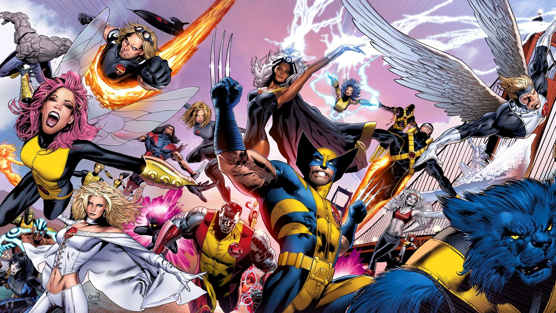 X Men Wallpaper 1080p