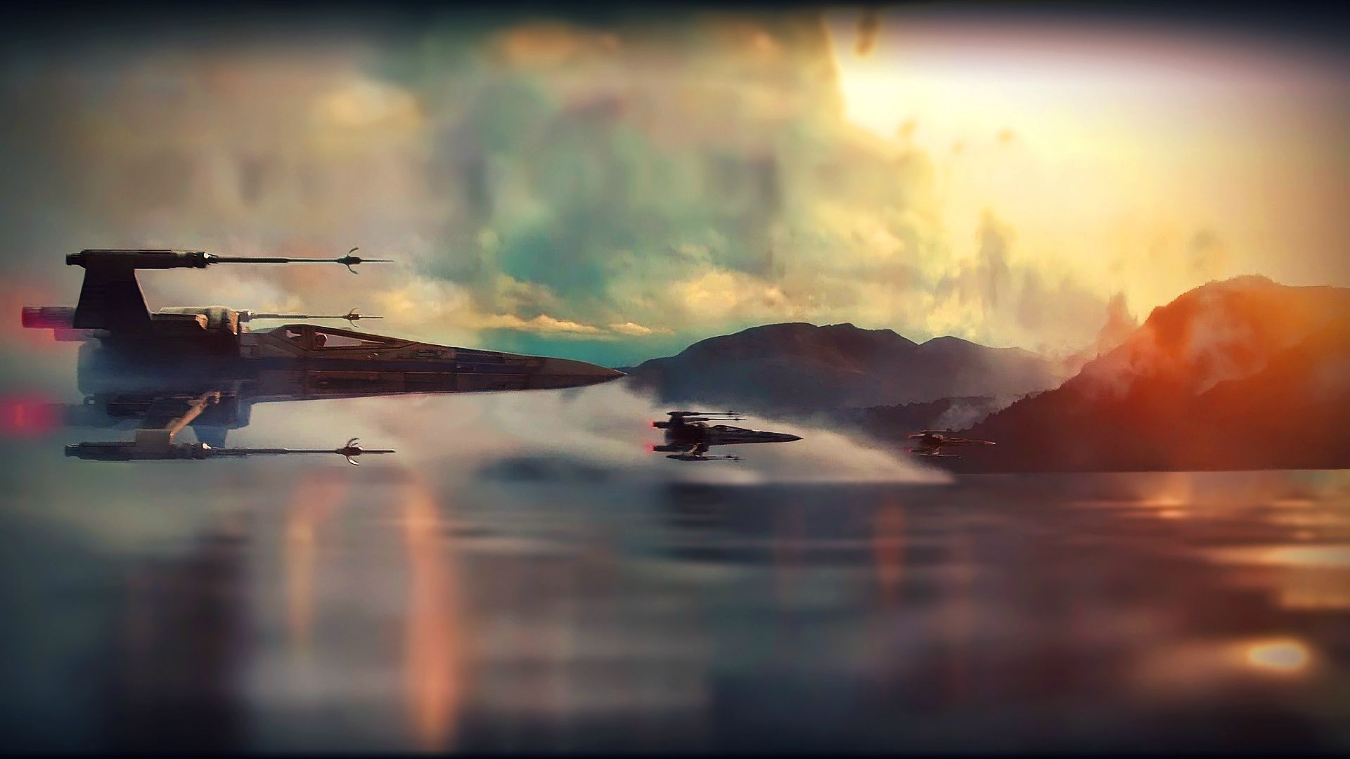 X Wing Wallpaper