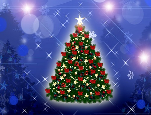Xmas Tree Wallpapers Free Download
