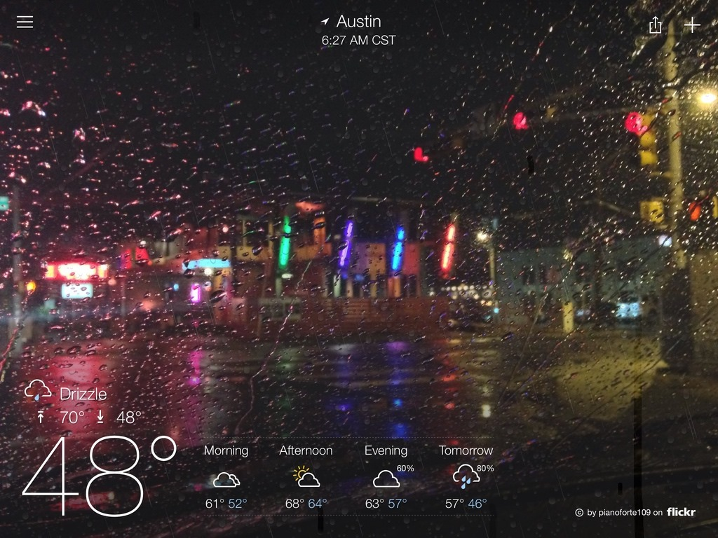 Yahoo Weather Wallpaper