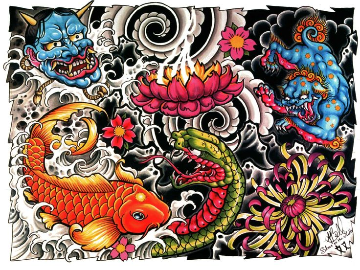 Yakuza Tattoo Wallpaper