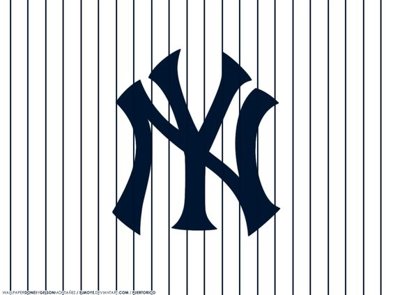 Yankees Pinstripe Wallpaper