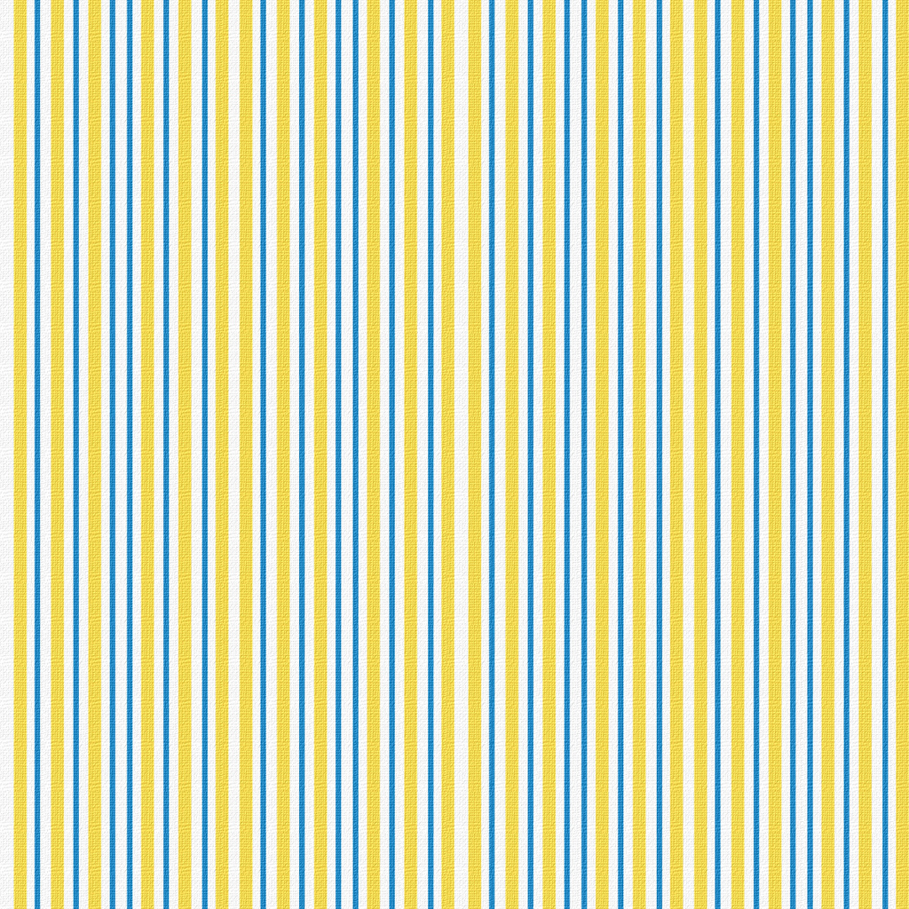 Yellow And Blue Striped Wallpaper
