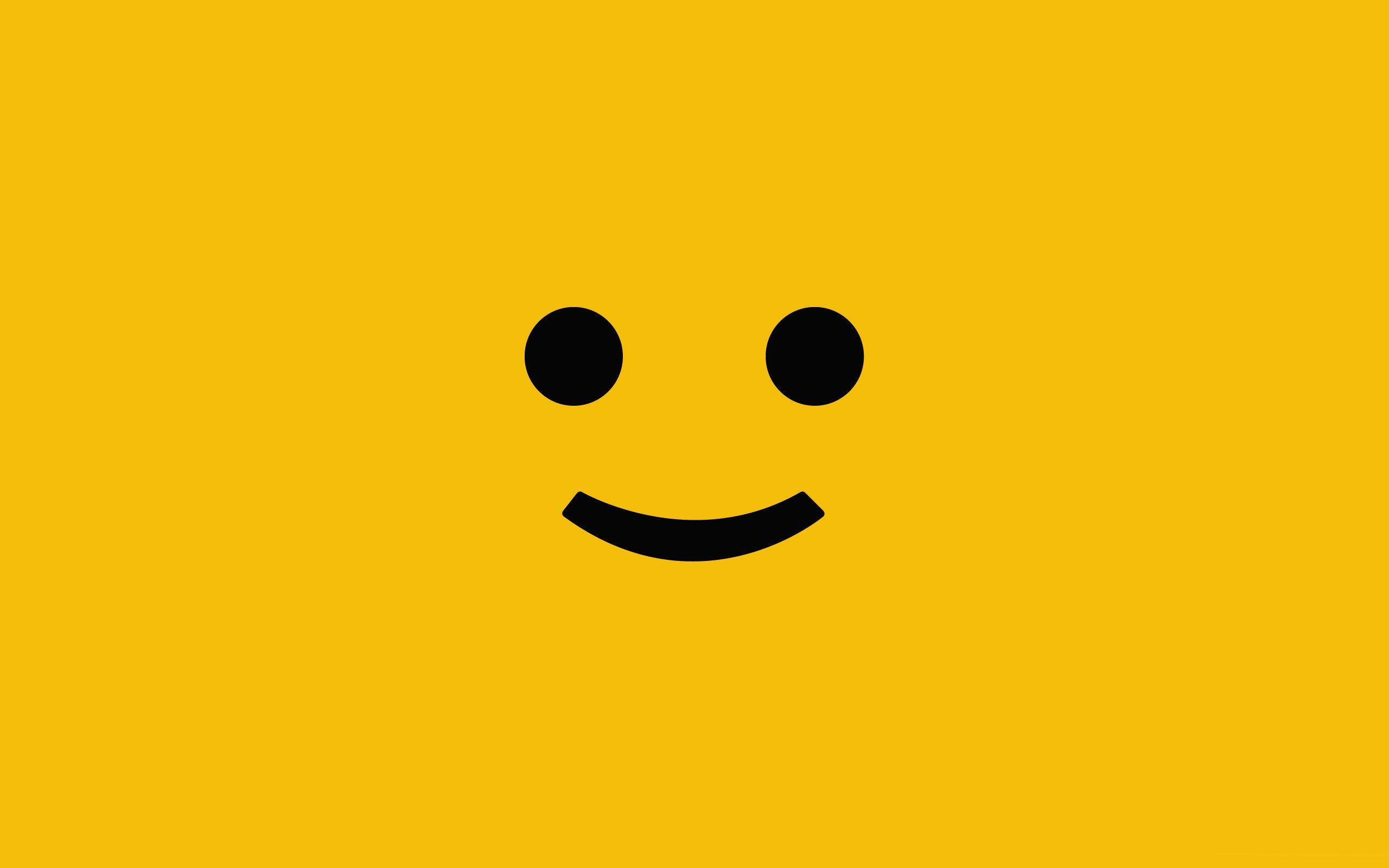 Yellow Smiley Face Wallpaper
