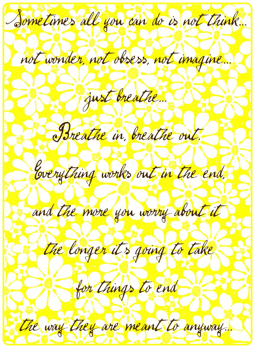 Yellow Wallpaper Quotes