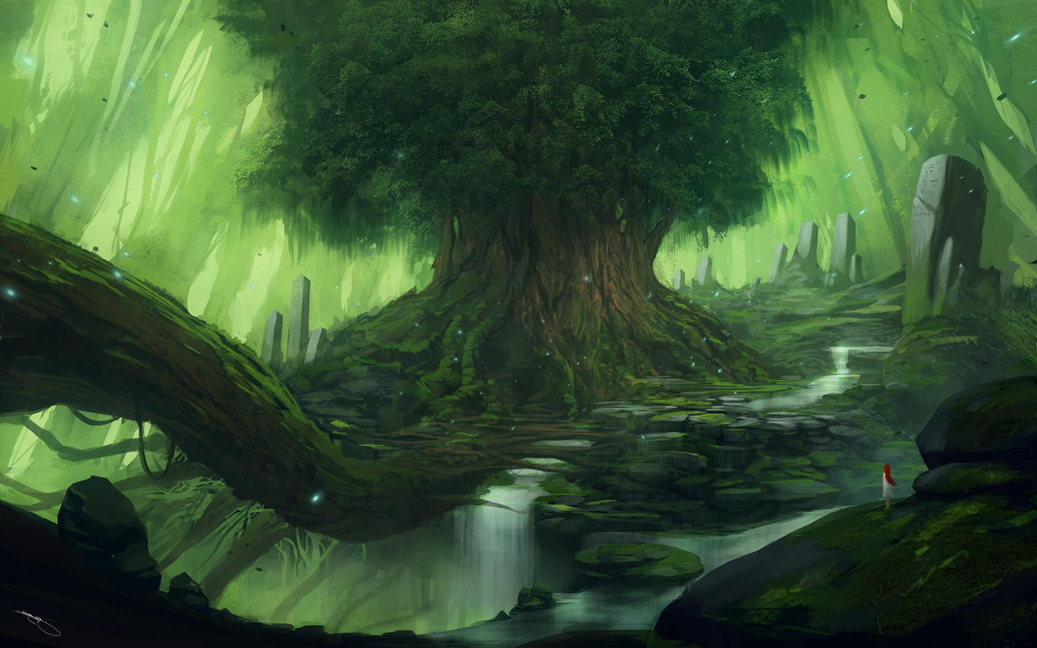 Yggdrasil Wallpaper