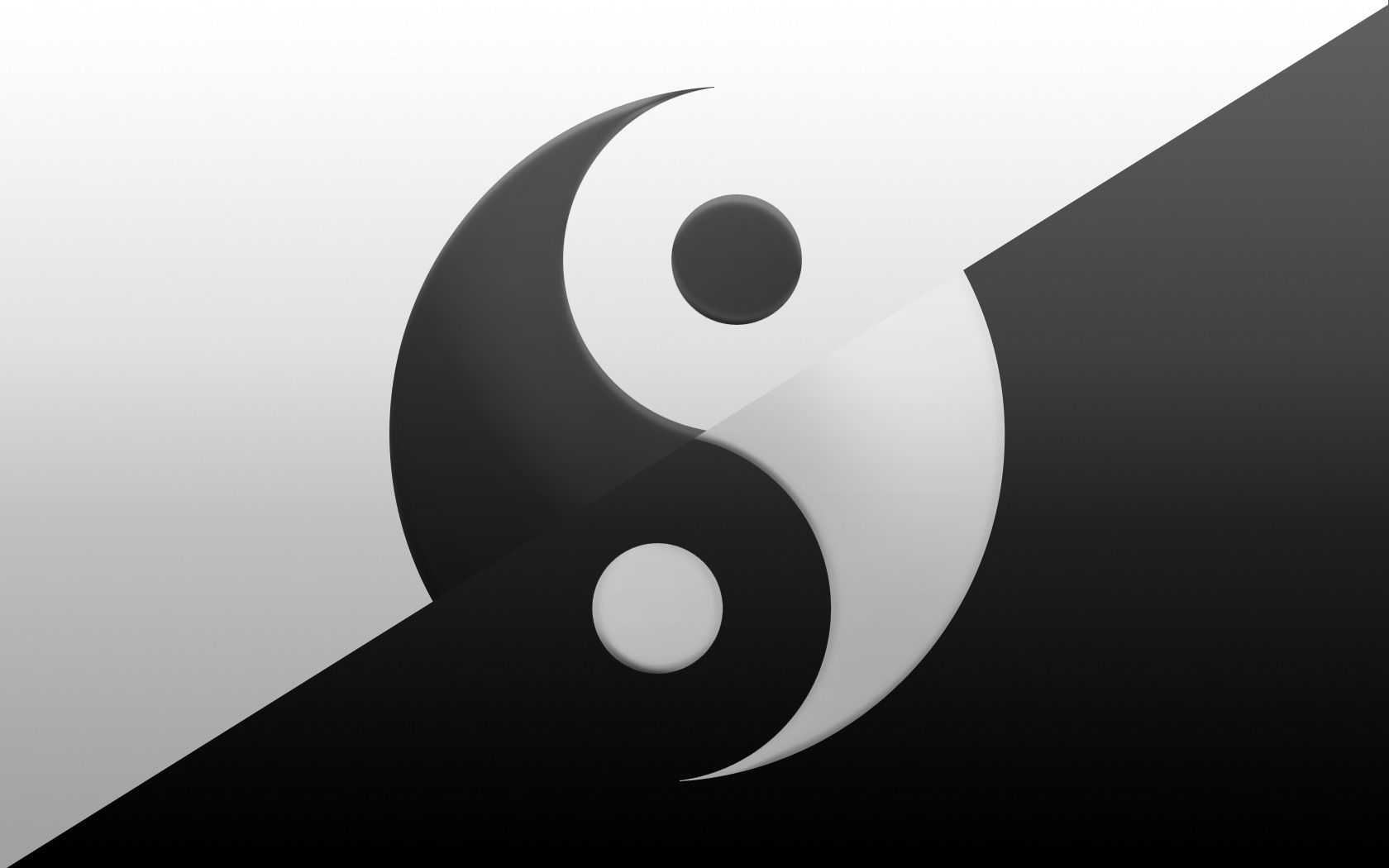 Yin And Yang Wallpaper