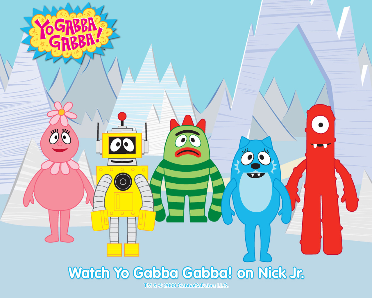 Yo Gabba Gabba Wallpaper