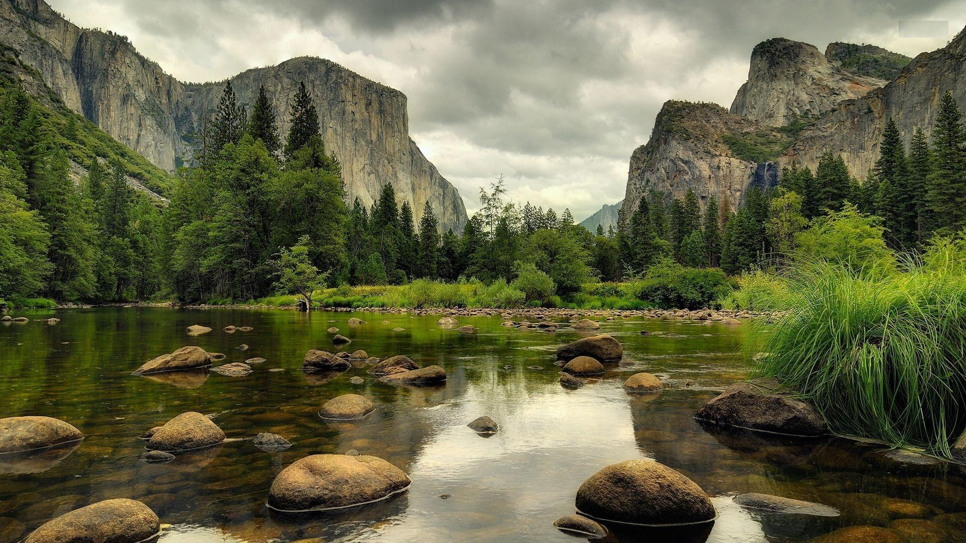 Yosemite National Park Wallpaper HD