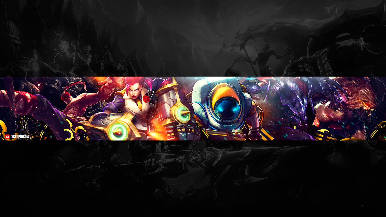 Youtube Channel Art Gaming 2560x1440