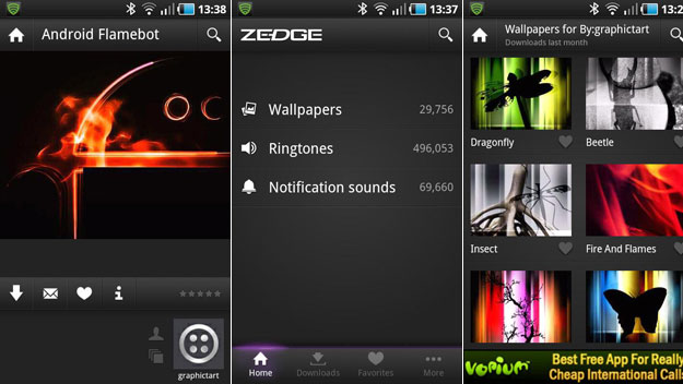Zedge Free Ringtones And Wallpaper