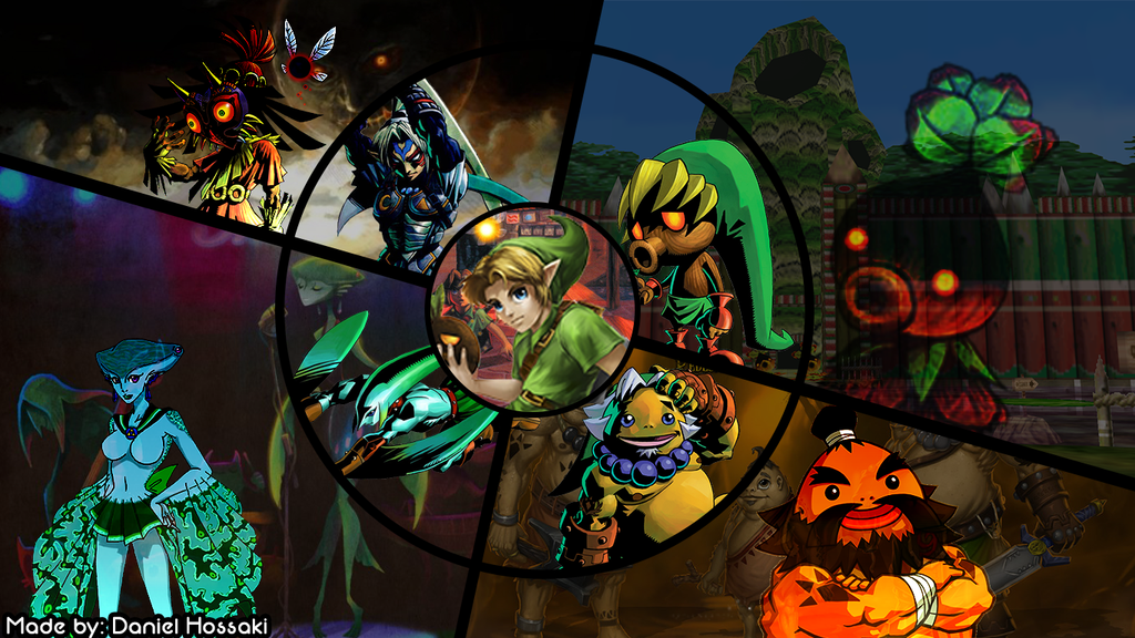Majora S Mask Desktop Background: Download Zelda Majora'S Mask Wallpaper Gallery