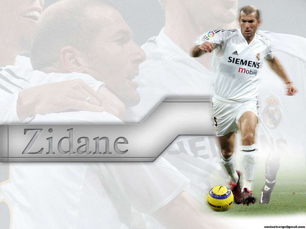 Zidane Real Madrid Wallpaper