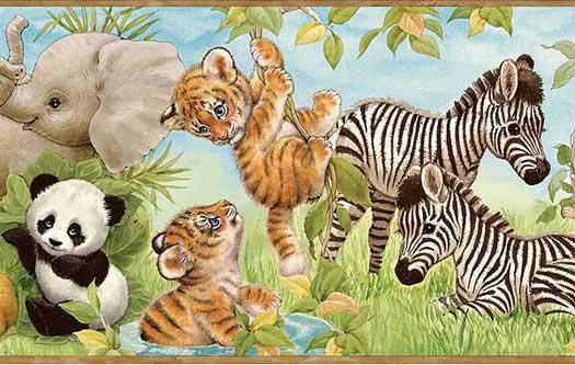 Zoo Animals Wallpaper