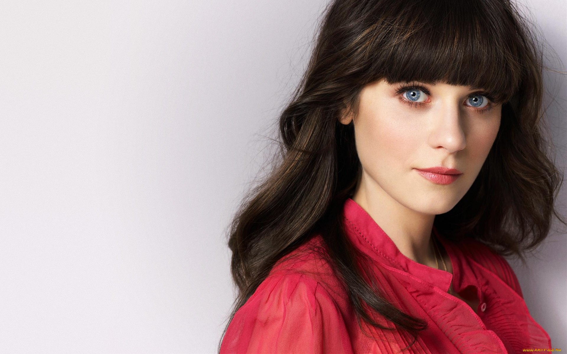 Zooey Deschanel+Wallpaper