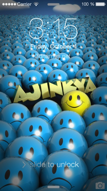 Ajinkya Name Wallpaper