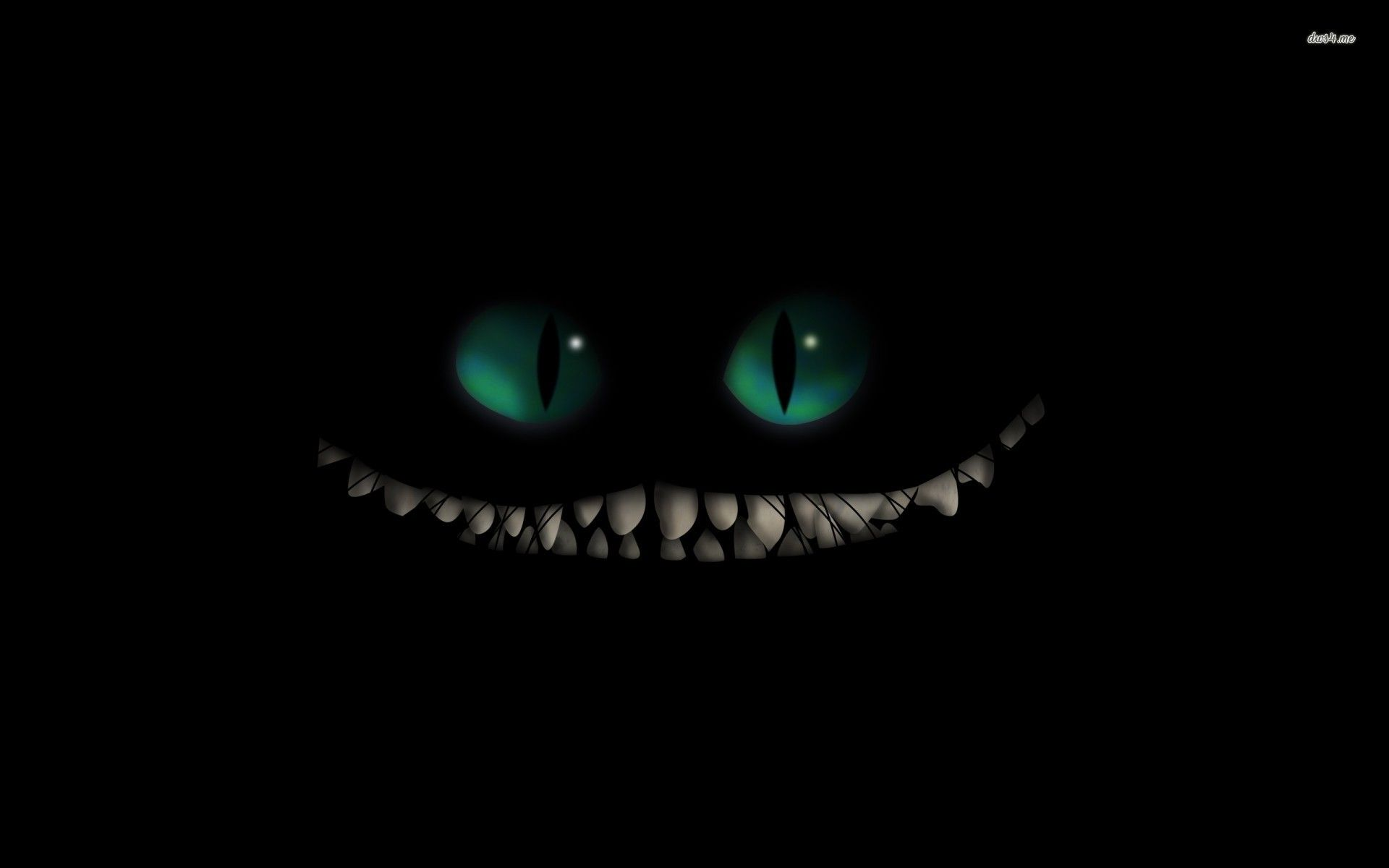 Cheshire Cat Smile Wallpaper