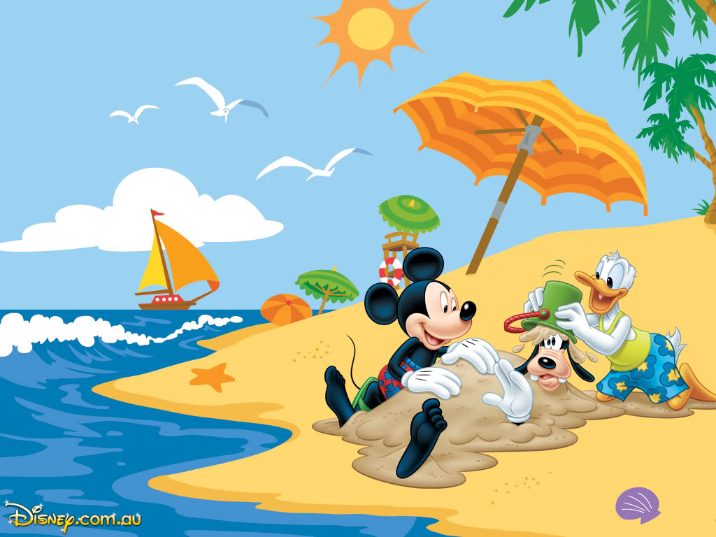 Disney Summer Wallpaper