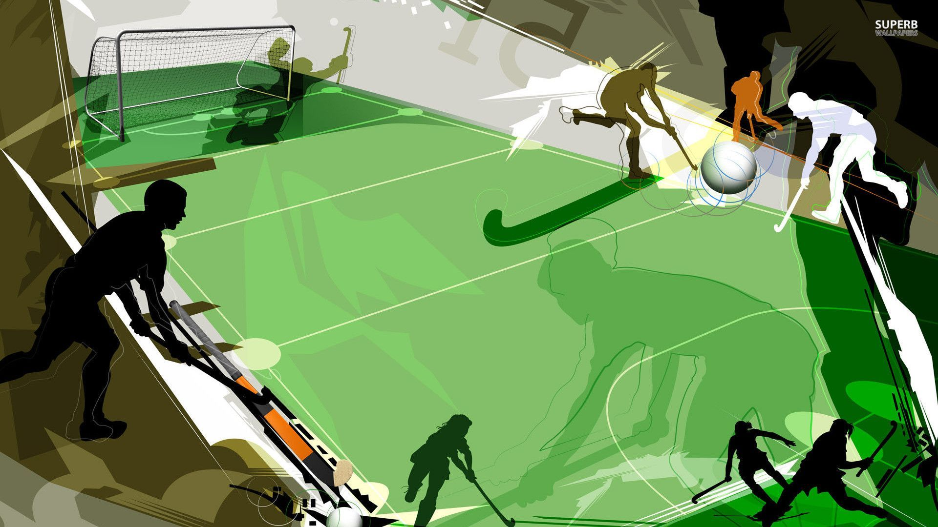 Field Hockey Wallpaper
