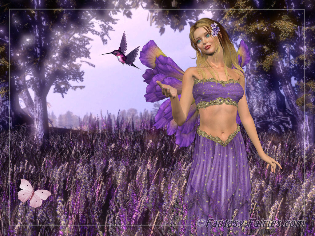 Free Fairies Wallpaper