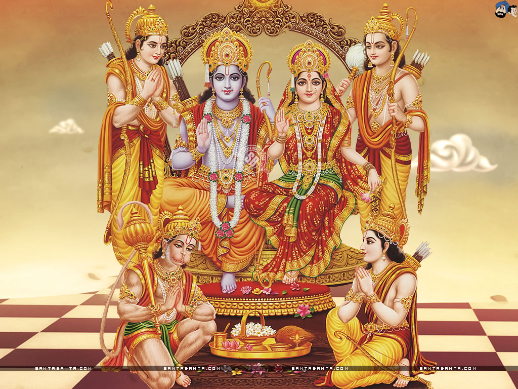 God Rama Wallpaper Images