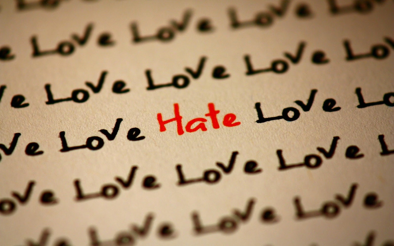 Hate Love HD Wallpapers
