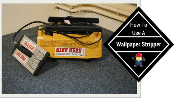 How To Use A Wallpaper Stripper