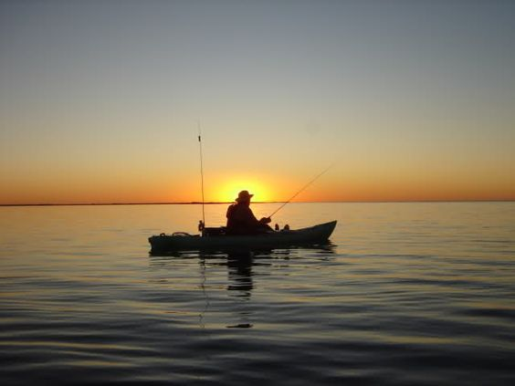 Kayak Fishing Wallpaper