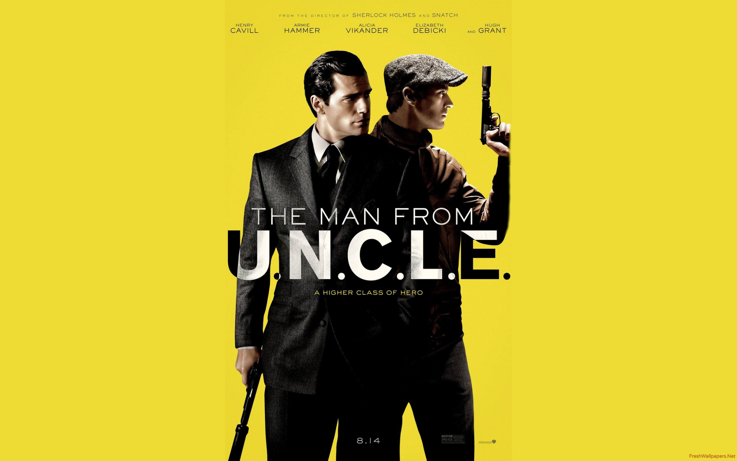Man From Uncle Wallpaper