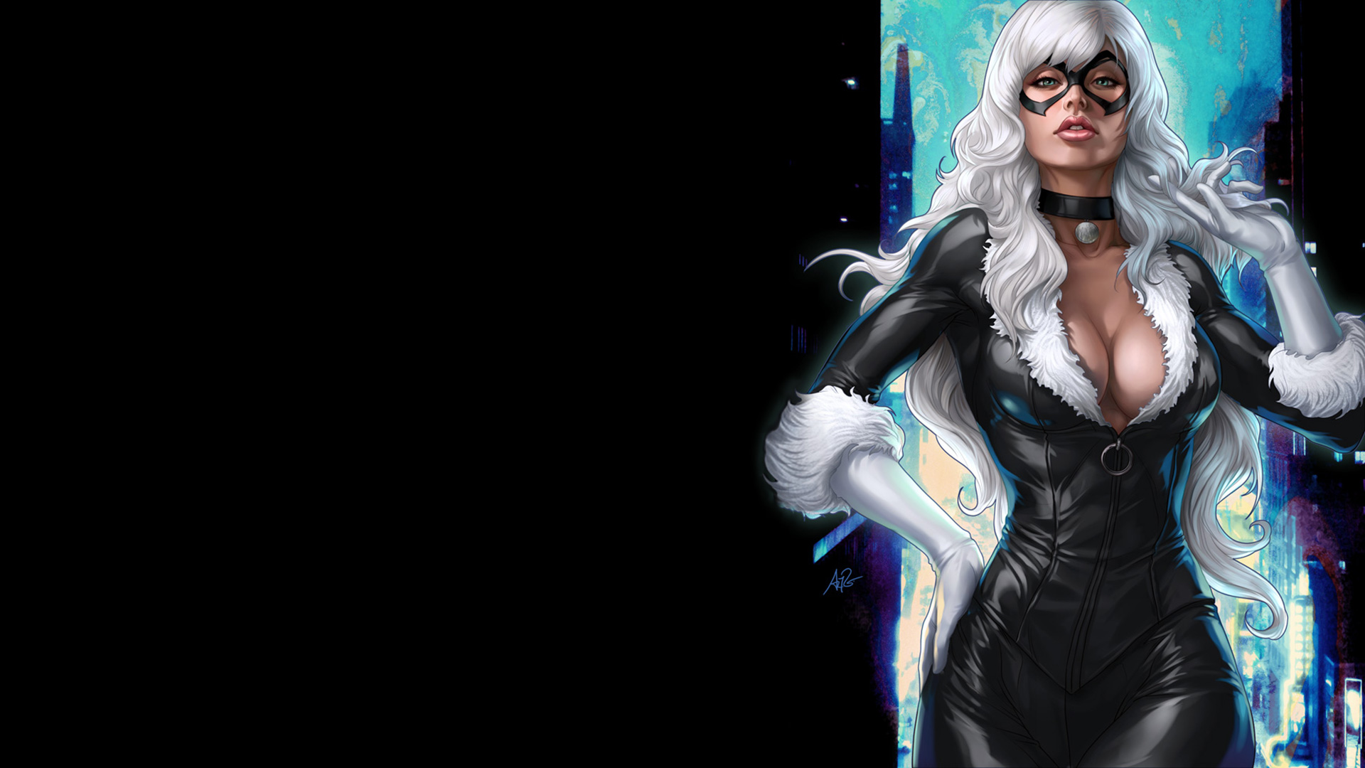 Marvel Black Cat Wallpaper