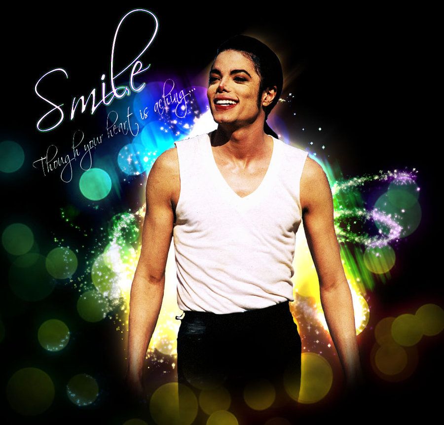 download michael jackson smile wallpaper gallery