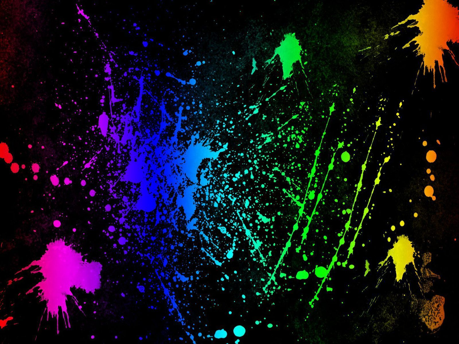 Neon Colored Wallpaper
