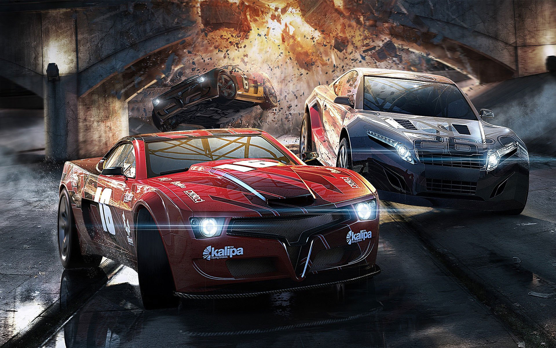 New 3D Sports Cars Wallpapers