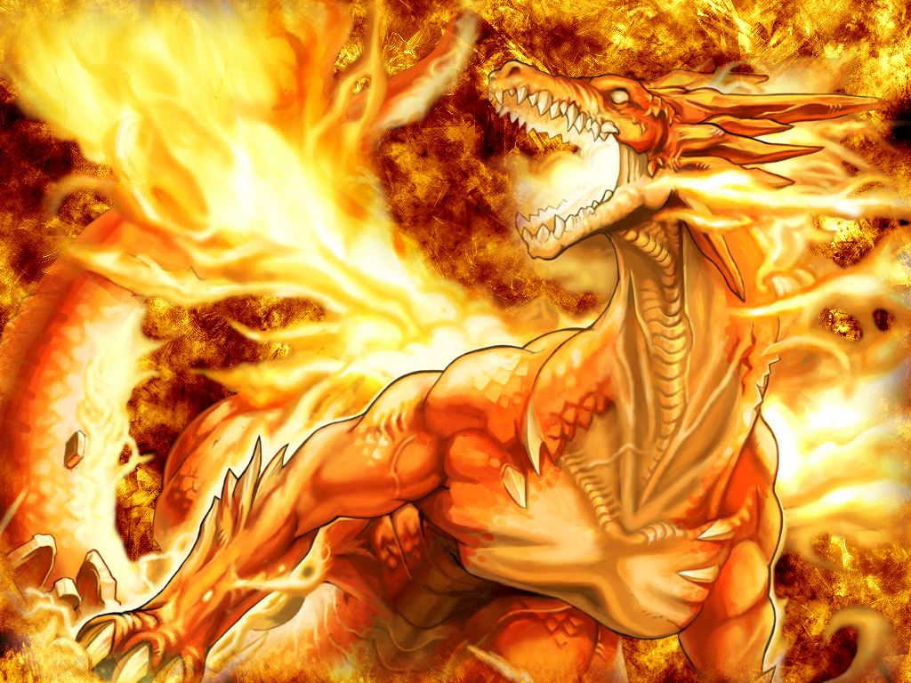 orange glow dragons wallpaper - photo #44