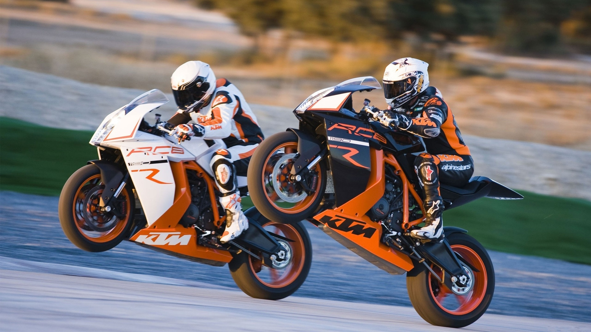 Racing Bike HD Wallpaper
