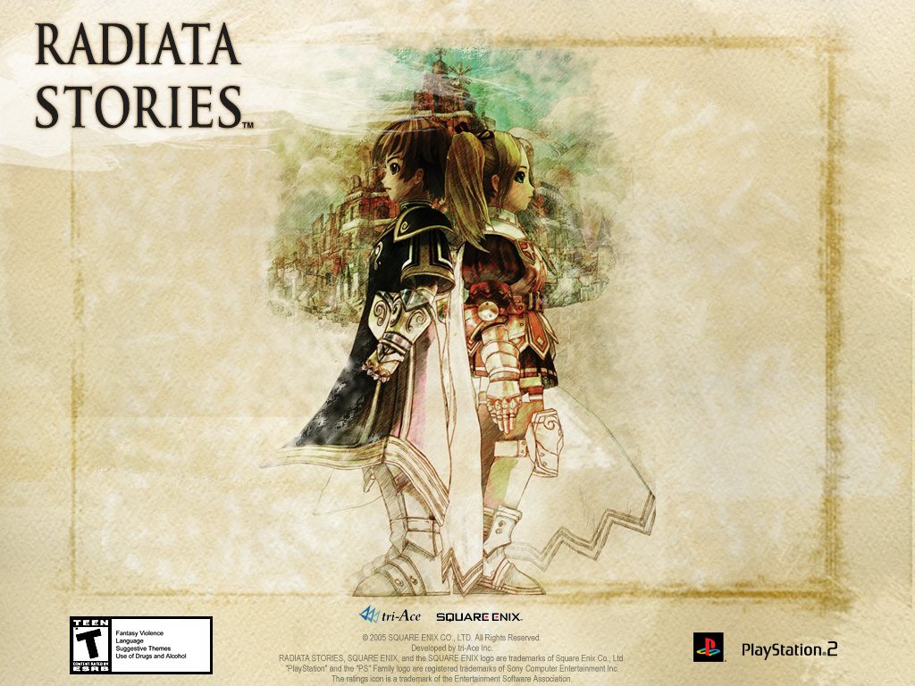 Radiata Stories Wallpaper