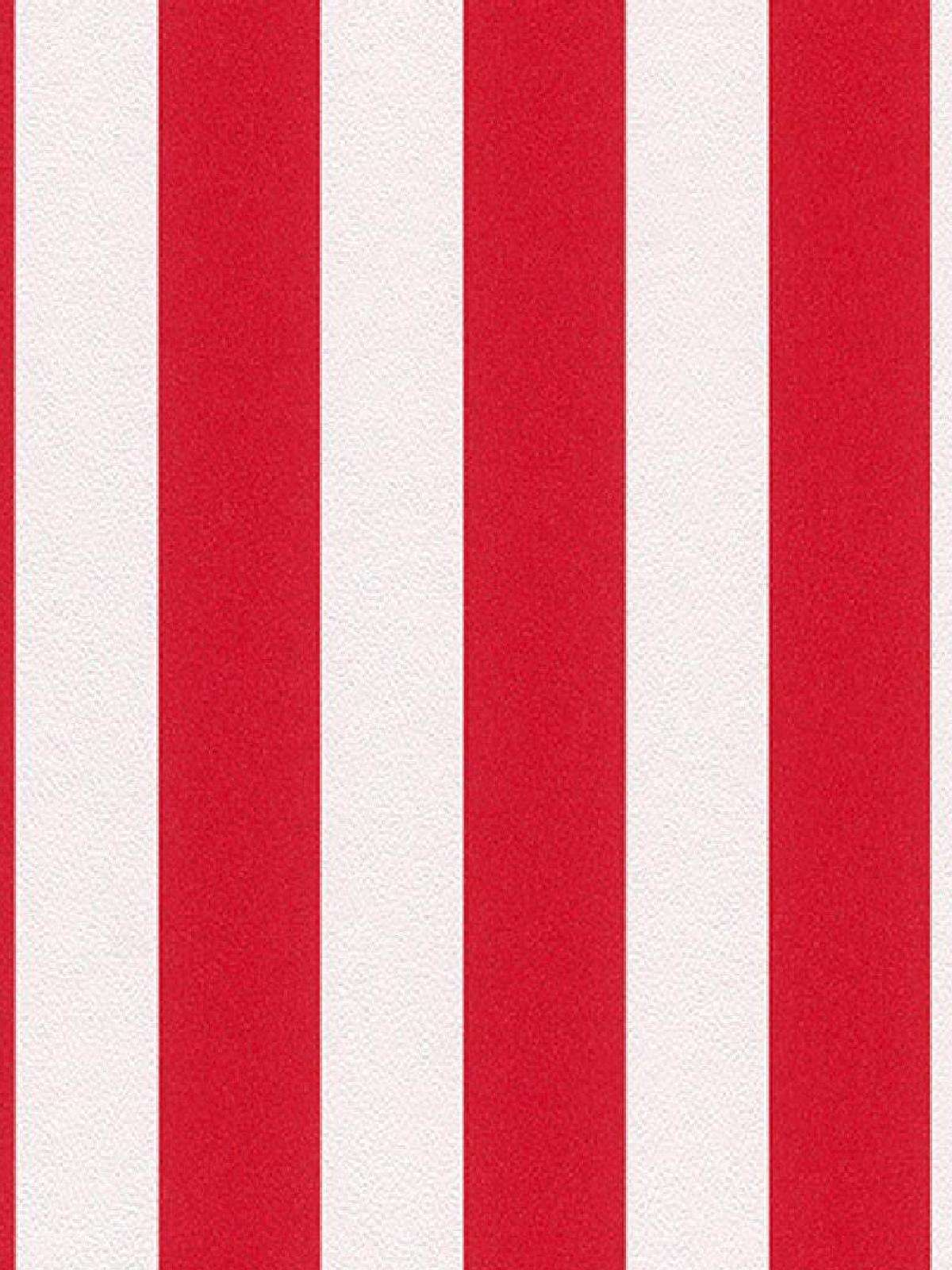 Red Striped Wallpaper