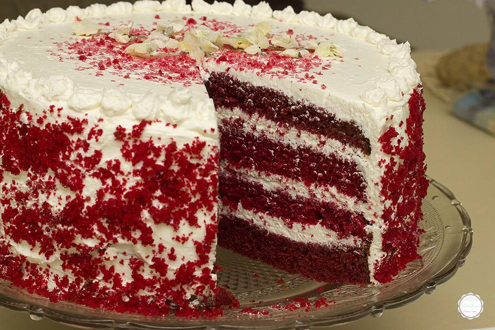Red Velvet Cake Wallpaper