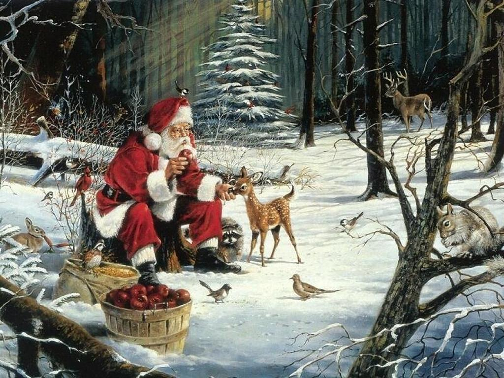 Santa Claus-Wallpapers