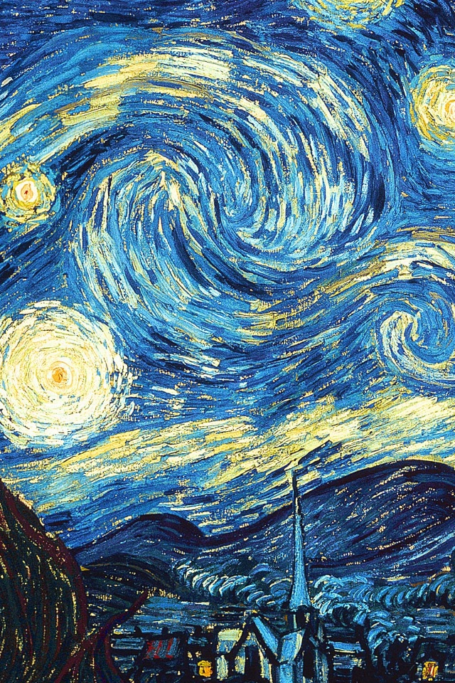 Download Starry Night Wallpaper Iphone Gallery