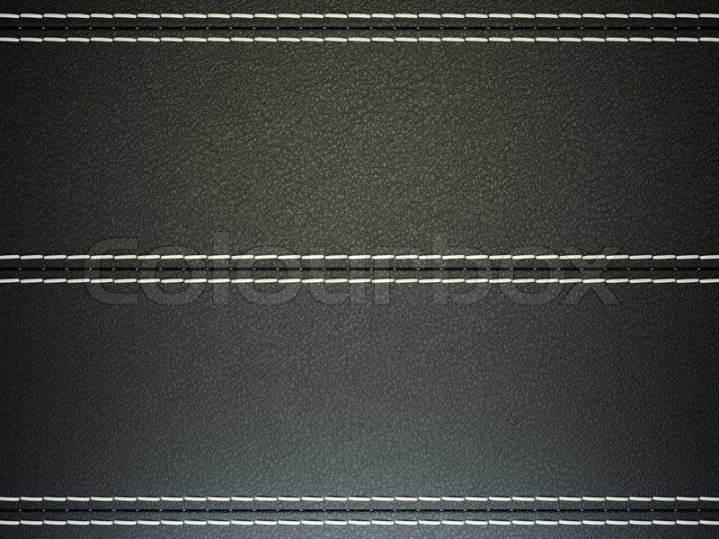 Stitched Leather Wallpaper