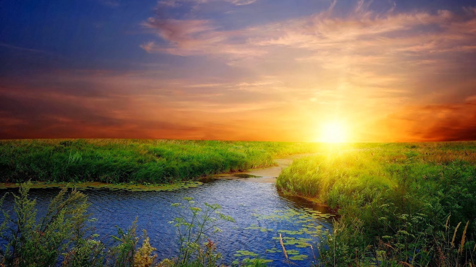 Sun Rise Wallpaper Free Download