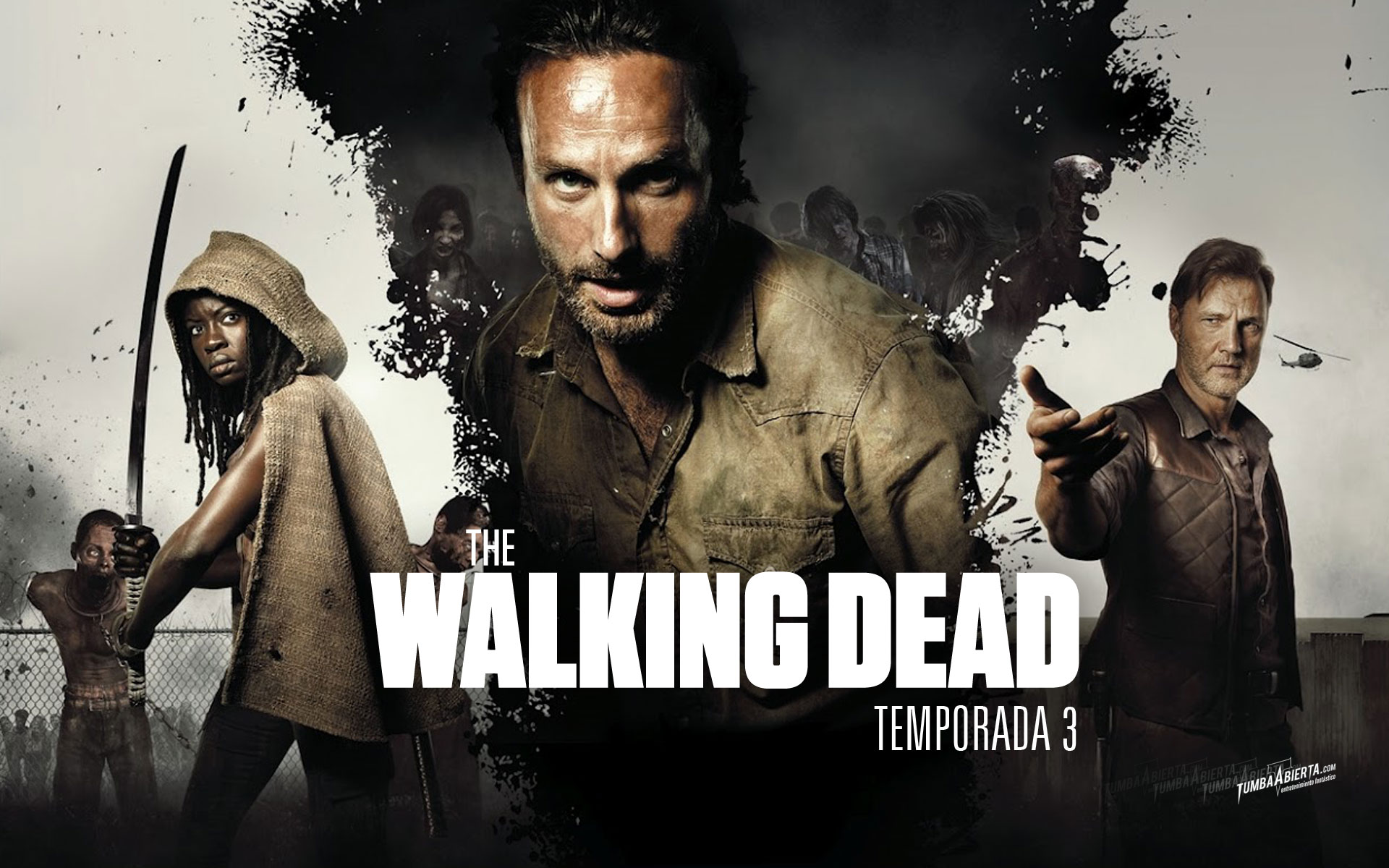 The Walking Dead Season 3 Wallpaper