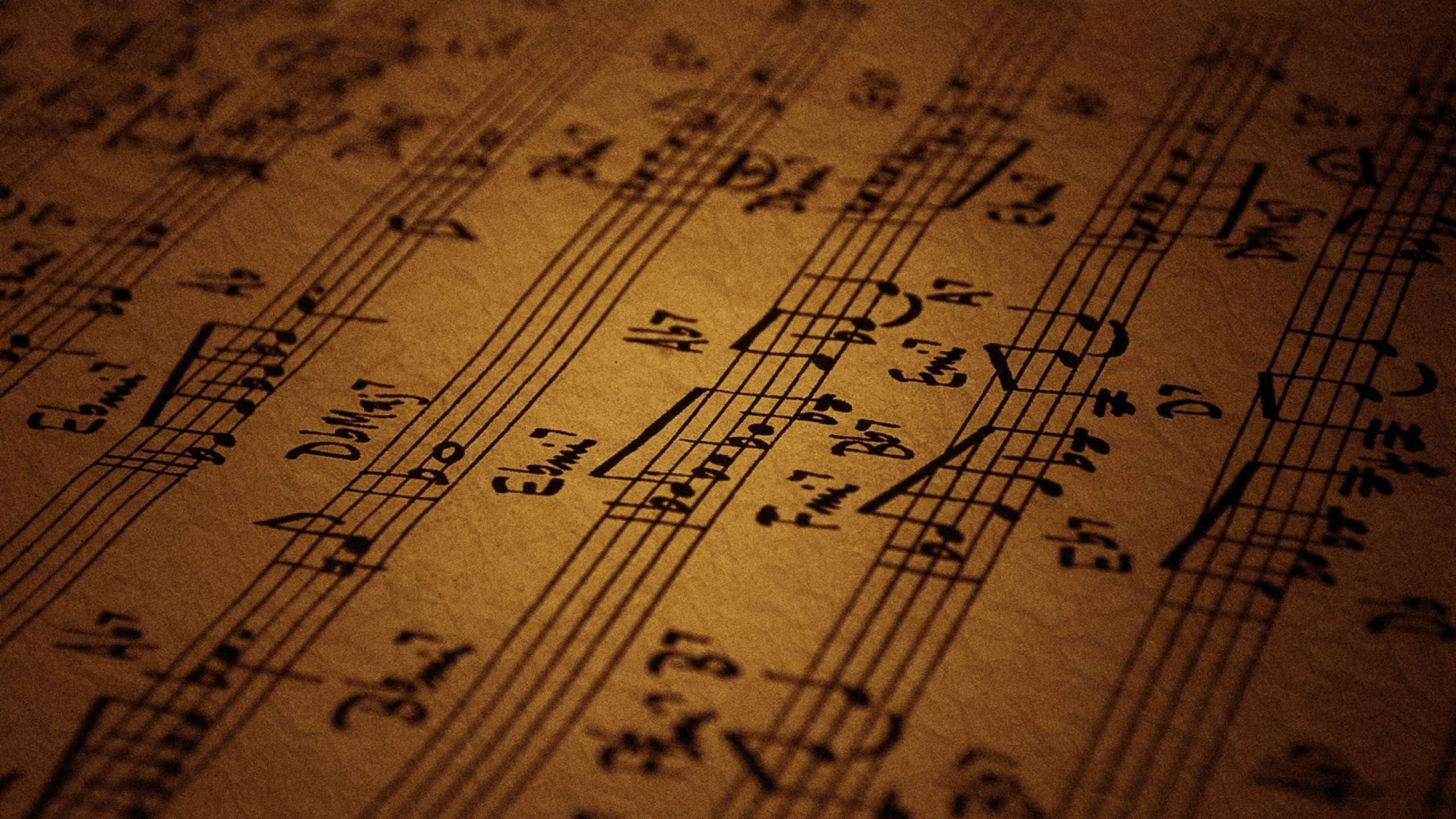 Wallpaper Of Music Notes
