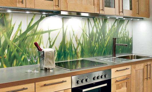 Download washable wallpaper for kitchen backsplash gallery - Fliesenspiegel folie ...