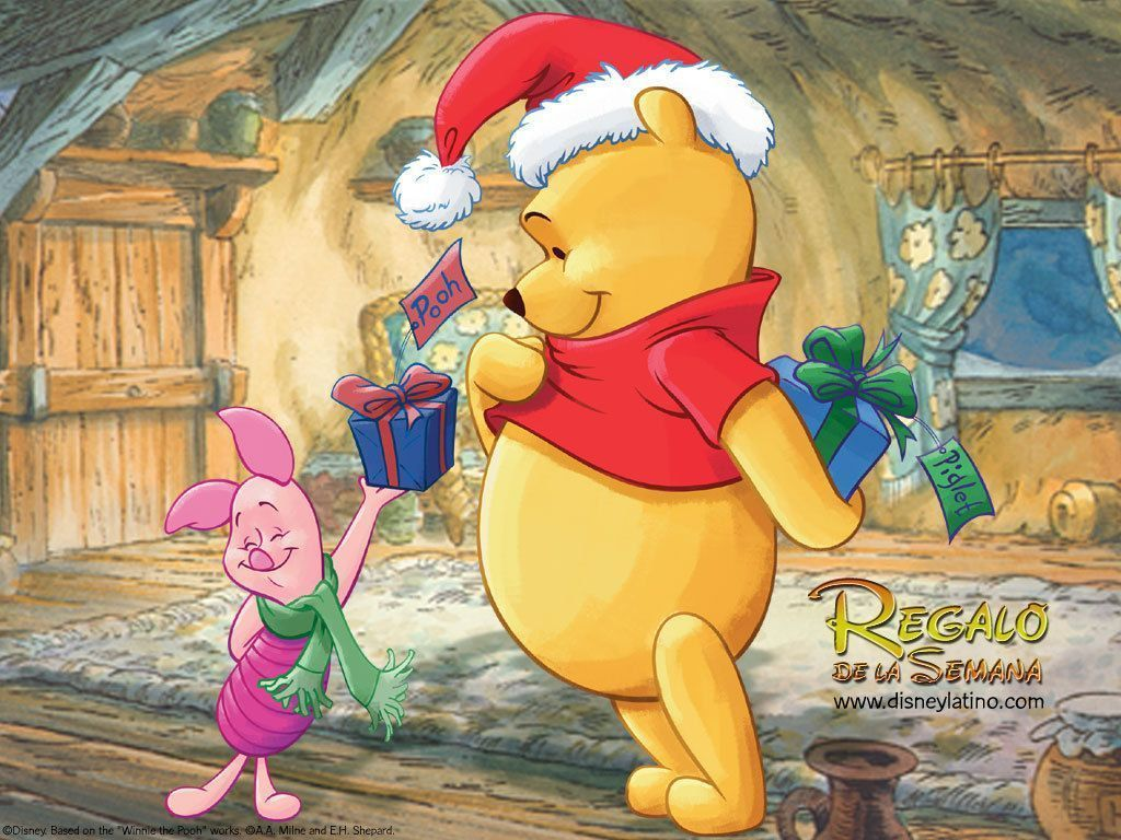 Winnie The Pooh Christmas Wallpaper Desktop