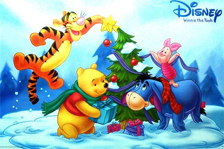 Download Winnie The Pooh Christmas Wallpaper Desktop Gallery