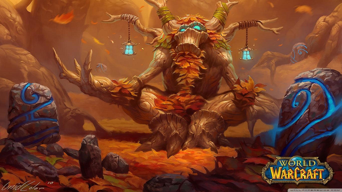 World Of Warcraft Druid Wallpaper