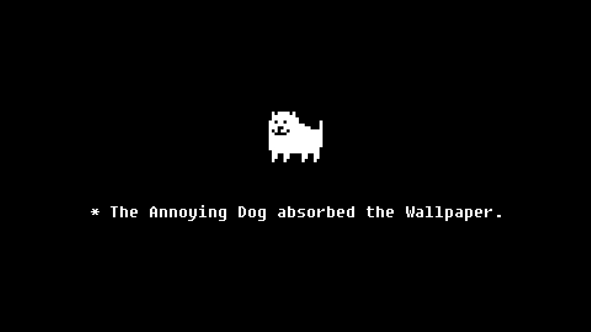Annoying Dog Undertale Wallpapers