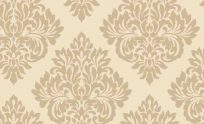 Damask Wallpapers Gold Cream